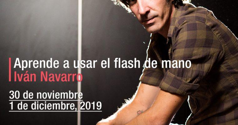 Vuelve el taller de Flash de mano con Iván Navarro