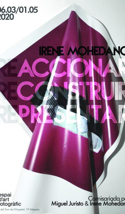 «Reaccionar. Reconstruir. Representar.», de Irene Mohedano, se inaugura el 6 de marzo