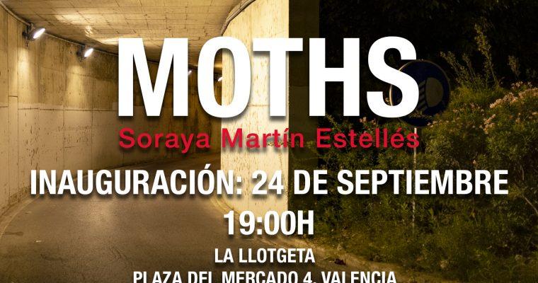 espai d'art fotogràfic inaugura MOTHS de Soraya Martín, ganadora del Máster en Fotografía: Producción y creación 2019